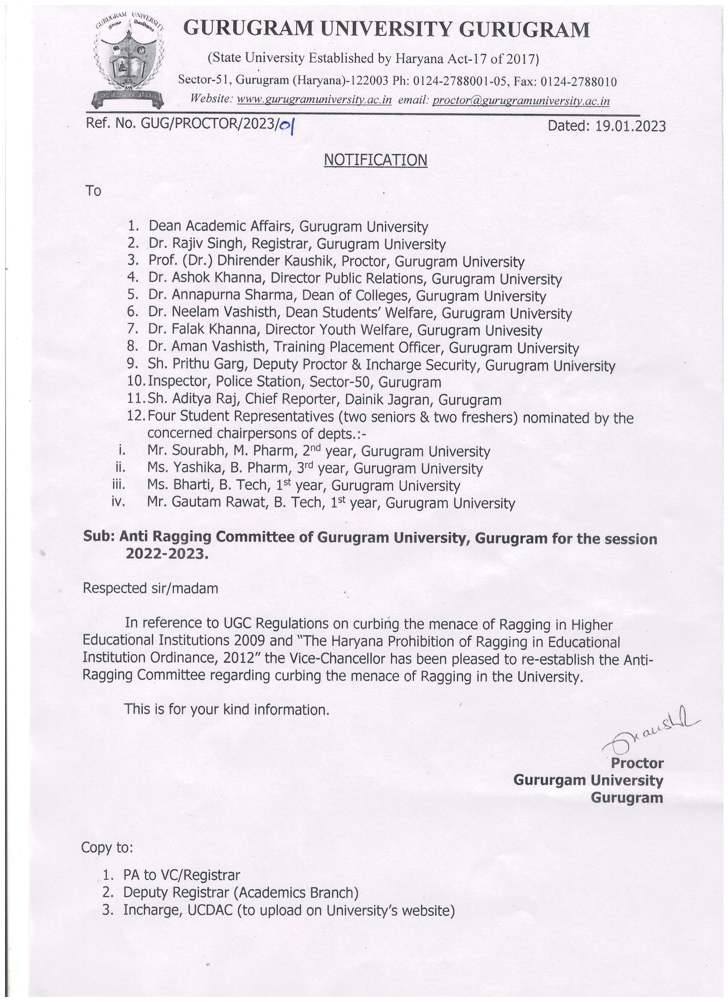 Gurugram University
